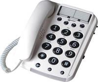 Geemarc DALLAS 10 Vezetékes telefon időseknek Fehér Geemarc