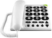 doro PhoneEasy 311c Vezetékes telefon időseknek Fehér doro