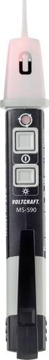 VOLTCRAFT MS-590 Fázis- és forgómező vizsgáló CAT IV 1000 V LED, Akusztikus, Vibrálás Gyári standard (tanusítvány nélkül