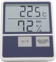 Hőmérséklet- és légnedvesség mérő, fehér, Basetech BTTH-1014 Basetech