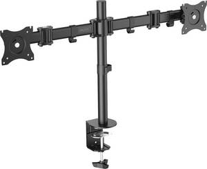 """Digitus DA-90349 2 részes Monitor asztali tartó 38,1 cm (15"""") - 68,6 cm (27"""") Forgatható, Állítható magasságú, Dönthető, Digitus"""