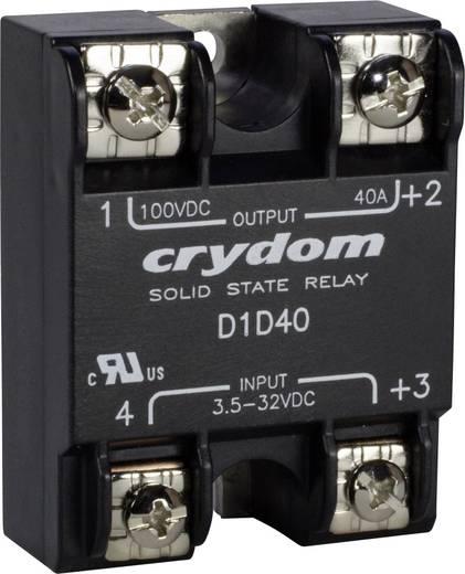 Elektronikus teljesítmény relé DC kimenettel 12 A 0-100 V/DC, Crydom D1D12