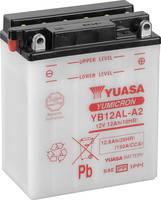 Motorkerékpár elem Yuasa YB12AL-A2 12 V 12.6 Ah A következő modellekhez Motorkerékpárok, Motoros rollerek, Quadok, Jetsk (YB12ALA2DC) Yuasa