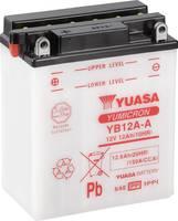 Motorkerékpár elem Yuasa YB12A-A 12 V 12 Ah A következő modellekhez Motorkerékpárok, Motoros rollerek, Quadok, Jetski, H (YB12AADC) Yuasa