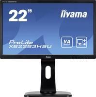 Iiyama PROLITE XB2283HSU-B1DP LED monitor (felújított) 54.6 cm (21.5 coll) 1920 x 1080 pixel Full HD 5 ms VGA, DVI, Kij Iiyama