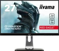 Iiyama G-MASTER GB2760QSU LED monitor (felújított) 68.6 cm (27 coll) EEK B (A+++ - D) 2560 x 1440 pixel WQHD 1 ms DVI, H Iiyama