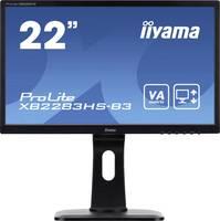 Iiyama ProLite XB2283HS LED monitor (felújított) 54.6 cm (21.5 coll) EEK A (A+++ - D) 1920 x 1080 pixel Full HD 4 ms VGA Iiyama