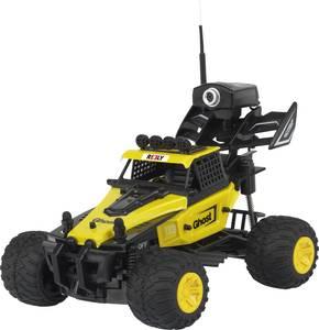 Reely RE-5063202 DIY FPV 1:28 RC modellautó Elektro Buggy 2WD Akkuval és töltőkészülékkel, FPV verzió Reely