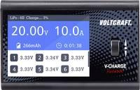 Modell multifunkciós töltő 12 V/DC 10 A VOLTCRAFT V-Charge Field 200 Ólom, LiFePO, LiHV, Lítiumion, LiPolimer, NiCd, NiM VOLTCRAFT