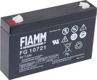 Fiamm PB-6-7,2 FG10721 Ólomakku 6 V 7.2 Ah Ólom-vlies (AGM) (Sz x Ma x Mé) 150 x 100 x 34 mm 4,8 mm-es laposérintkezős d Fiamm