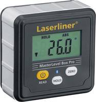 Laserliner MasterLevel Box Pro (BLE) 081.262A Digitális vízmérték 28 mm 360 ° Kalibrált: Gyári standard (tanusítvány nél (081.262A) Laserliner