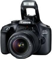 Canon EOS 4000D Kit 18-55mm III Digitális tükörreflexes fényképezőgép EF-S 18-55 mm IS II 18 Megapixel Fekete Optikai ke Canon