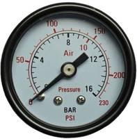 """Aerotec Manométer 9415451 Csatlakozó (manométer): Hátlap Külső menet 1/4"""" 1 db Aerotec"""