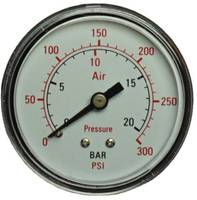 """Aerotec Manométer 9414582 Csatlakozó (manométer): Hátlap Külső menet 1/4"""" 1 db Aerotec"""