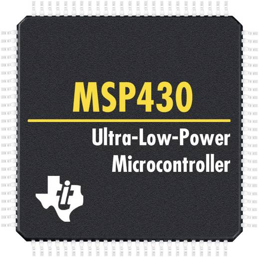 MSP430 mikrokontroller, ház típus: QFP-64, Texas Instruments MSP430F2418PM