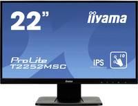 """Iiyama PROLITE T2252MSC-B1 Érintőképernyős monitor 54.6 cm (21.5 """") EEK: B (A - G) 1920 x 1080 pixel 16:9 7 ms VGA, HDMI (T2252MSC-B1) Iiyama"""