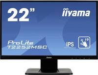 Iiyama ProLite T2252MSC Érintőképernyős monitor 54.6 cm (21.5 coll) 1920 x 1080 pixel 16:9 7 ms VGA, HDMI™, Kijelző cs Iiyama