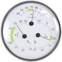 Analóg hőmérséklet- és légnedvesség mérő, fehér, Basetech BT-TH140 Basetech