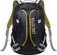 "Dicota Notebook hátizsák Tasche / Notebook / Backpack Active / R Alkalmas: Max.: 39,6 cm (15,6"") Fekete, Sárga Dicota"