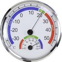 Szabadon álló, Fali Hőmérséklet- és légnedvesség mérő Basetech BT-1713921 Ezüst (BT-1713921) Basetech