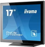"Iiyama ProLite T1732MSC-B5X LED monitor (felújított) 43.2 cm (17 "") EEK: B (A++ - E) 1280 x 1024 pixel 5:4 5 ms USB, HDM Iiyama"