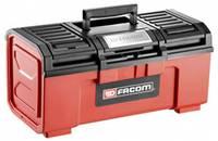 Facom 536 BP.C19N Szerszámos láda tartalom nélkül Piros/fekete Facom