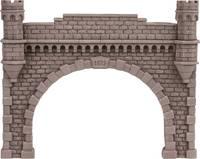 NOCH 58271 H0 Tunnel-Portal 2 sínes Keményhab kész modell NOCH