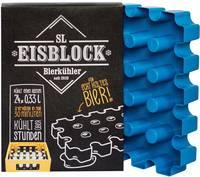 Jégblokkos palackhűtő forma sörrekeszhez 24 x 0,33l, kék, SL Eisblock SL Eisblock