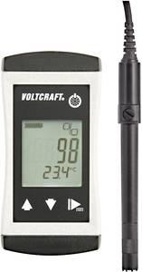 VOLTCRAFT DO-410 Oxigénmérő O2 telítettség VOLTCRAFT