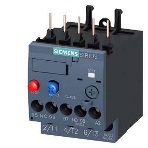 Túlterhelés relé 1 db Siemens 3RU2116-0CB0 (3RU21160CB0) Siemens