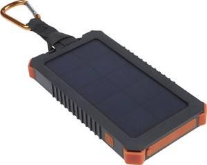 Xtorm by A-Solar Powerbank Instict 10000 AM123 Napelemes akkutöltő Töltőáram napelem (max.) 220 mA 1.2 W Kapacitás (mAh, Xtorm by A-Solar