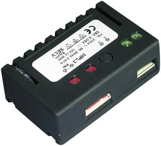 Kompakt, nagy teljesítményű LED tápegység 10-30 V/DC (12 V/AC), 700mA