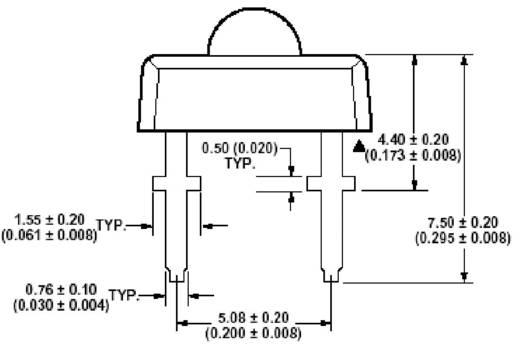LUMILEDS Superflux™ LED Lumileds HPWT-ML Borostyán 70 ° Fényerősség IV 600 mcd U F (mV) 2,6 V I(F) 70 mA