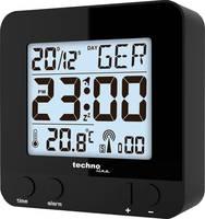 Techno Line WT235 sw Rádiójel vezérlésű Ébresztőóra Fekete Riasztási idők 1 Techno Line