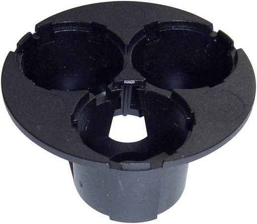 3-as tartó Luxeon Star Hexagon direkt optikához fekete