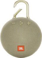 JBL Clip 3 Bluetooth hangfal Kihangosító funkció, Kültéri, Fröccsenő víz ellen védett Homok JBL