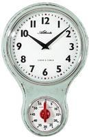 Atlanta Uhren 6124/6 Kvarc Falióra 205 mm x 65 mm x 31 mm Világoszöld Atlanta Uhren
