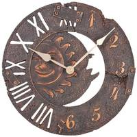 Atlanta Uhren 4475 Kvarc Falióra 290 mm x 55 mm Barna-antik Atlanta Uhren