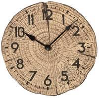 Atlanta Uhren 4476 Kvarc Falióra 300 mm x 55 mm Barna Atlanta Uhren