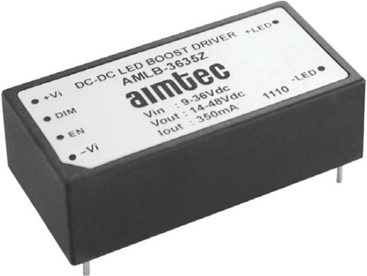 LED meghajtó IC High-Power LED-ekhez Aimtec AMLD-36120IZ Ház típus DIP 24 Kivitel DC/DC LED meghajtó Vin 5-36V, 1200mA