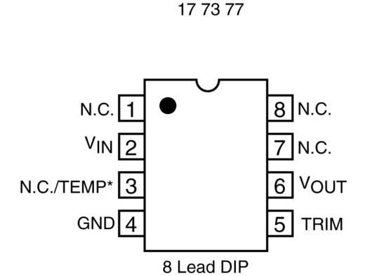 PMIC - akkumanagement Linear Technology LT1512CN8#PBF Töltésmanagement Összes elemtípus PDIP-8 Átvezető lyuk