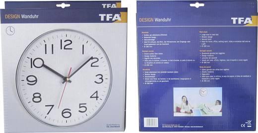 Kvarc analóg falióra 180 x 40 mm, ezüst, TFA 60.3017/60.010130