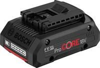 Bosch Professional ProCORE 1600A016GB Szerszám akku 18 V 4 Ah Lítiumion Bosch Professional