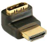 TECHly HDMI Átalakító [1x HDMI dugó - 1x HDMI alj] Fekete TECHly