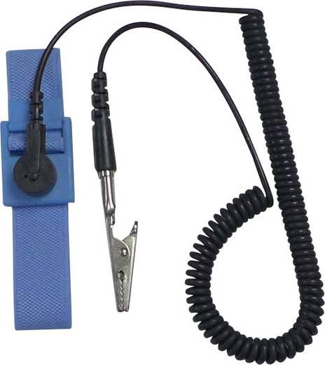Antisztatikus csuklópánt SD-AS D4-es csatlakozóval