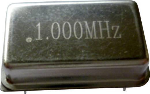 Kvarc oszcillátor, frekvencia: 2 MHz, DIP 14, (H x Sz) 20,7 x 13,1 mm, TFT680