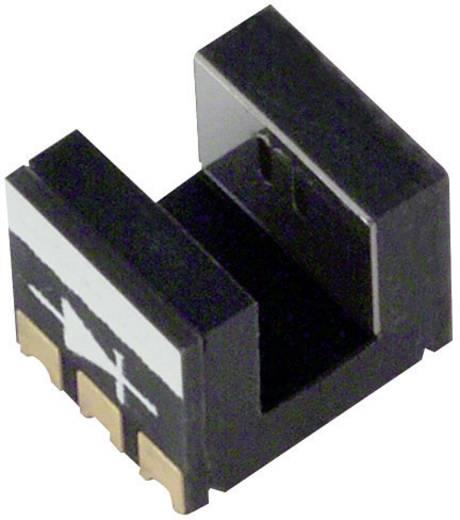 Miniatűr villás fénysorompó, 2 csatornás, hatótáv: 2 mm, Omron EE-SX1131 SMD