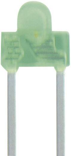 LED kivezetéssel Sárga Íves 1.8 mm 8 mcd 70 ° 20 mA 2.1 V Kingbright L-2060YD
