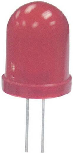 LED, szuperfényes, 10MM L-813SRD-B