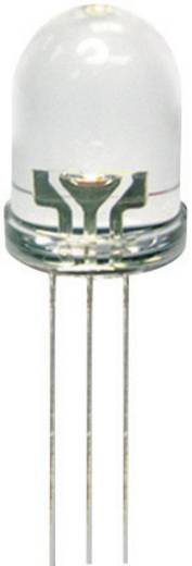 LED kétszínű,8MM 3PIN L-799EGW , BICOLOR